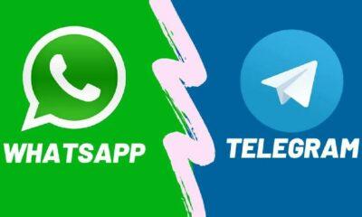 تيليجرام يستفيد من توقف واتساب ويحصل على 70 مليون مستخدم جديد