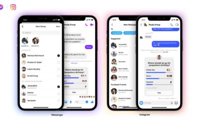 فيس بوك تسمح لمستخدمي انستجرام الانضمام إلى محادثات ماسنجر