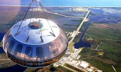 وورلد فيو تبدأ في سياحة الفضاء عبر منطاد في الستراتوسفير