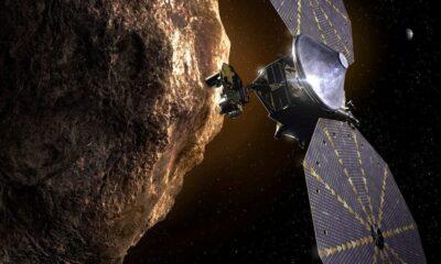 ناسا تطلق مركبة الفضاء لوسي